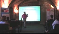 Animation de la conférence à la chartreuse de villeneuve le 06 juin 2013