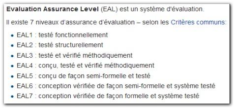 L'utilisation juridique des documents numériques à l'ère de la dématérialisation à outrance - Evauation Assurance Level