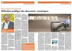 L'utilisation juridique des documents numériques