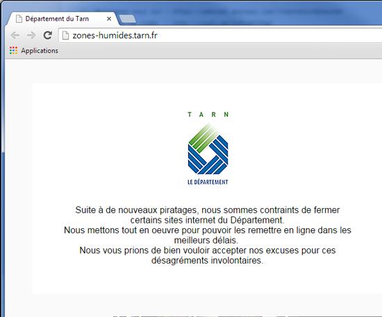 OpAntiRep : Anonymous s'attaque à la gendarmerie française