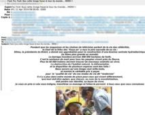 Ne relayez pas les spams, canulars, chaînes de lettres…  | Denis JACOPINI