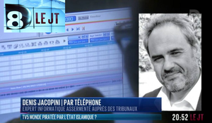 Denis JACOPINI au JT de D8 à la suite de la cyberattaque (piratage informatique) de TV5 monde