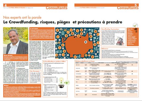 Le crowdfunding, risques, pièges et précautions à prendre