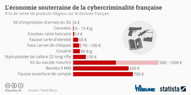Qui sont les escrocs du darknet français ?