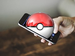 Pokemon, Pokemon Aller, Main, Smartphone