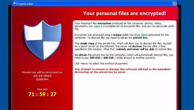 Des clés de déchiffrement pour le ransomware Crysis mises en ligne